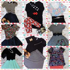 Outfit Stylings with all LuLaRoe pieces!  Available @ FB www.facebook.com/groups/lularoe.zabrinabree