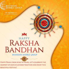Wishing you all Happy Rakshabandhan by Bhandari Marble Group Raksha Bandhan Cards, Rakhi Festival, Happy Rakhi, Brother And Sister Love, Artist Branding, Happy Rakshabandhan, Praying To God, Artist Management, Cute Photography