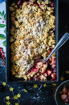 Glühwein Apple Crumble Rezept - The Best Soft Recipes Best Apple Crisp Recipe, Apple Crisp Easy, Apple Crisp Recipes, Dessert Oreo, Dessert Recipes, Plat Vegan, Crumble Recipe, Winter Food, Christmas Desserts