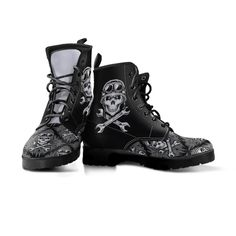 Classy Gothic Boots are among the most popular boots & instantly add flavour to an outfit. The our awesome design is timeless. Womens Biker Boots, Leather Motorcycle Boots, Boots Women, Gothic Boots, American Legend, Biker Style, Dress With Boots, Combat Boots, Cool Designs