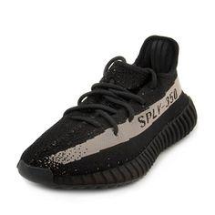 27bfcce4029be adidas Mens Yeezy Boost 350 V2 Black White Black White Fabric Size 4