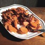 Yams with Crispy Skins and Brown-Butter Vinaigrette