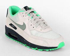 Nike Air Max 90   Light Bone / Jade Stone   Classic Charcoal