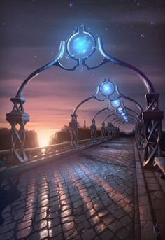 Great Artwork by Kris Eggleston Raypunk Fantasy artwork, fantasy metropolis, fan. Fantasy City, Fantasy Castle, Fantasy Places, Medieval Fantasy, Fantasy World, Dark Fantasy, Fantasy Art Landscapes, Fantasy Landscape, Landscape Art