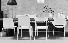 Papatya white chairs