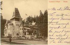 BU-F-01073-5-03425-2 Castelul Pelişor din Sinaia, -1911 (niv.Document) Bucharest Romania, History, Retro, Historia, Retro Illustration