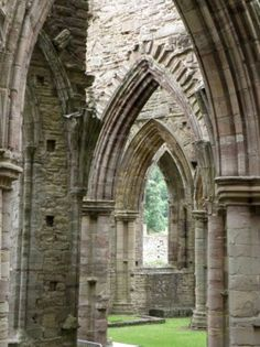 Tintern Abbey, Wales, UK. lol i have been here too! My class and I almost died on the way there when our coach had to drive over the smallest bridge ever. Great bonding experience #studyabroad