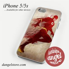 The Flash art Phone case for iPhone 4/4s/5/5c/5s/6/6 plus