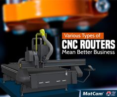 Install #CNCrouters at your production facility to increase production & reduce waste. Use #Matcam built high quality routers.
