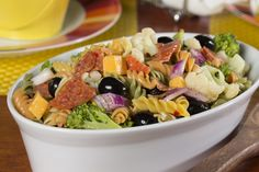 Garbage Pasta Salad | mrfood.com