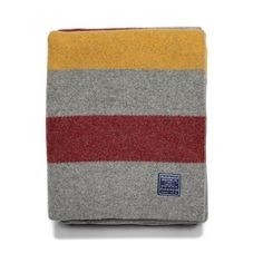 Car Blanket, Wool Blanket, Grey Room, Woolen Mills, Cotton Blankets, Queen Beds, American Made, Stripes, Pond