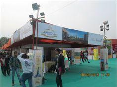 """Krishna Bhumi stall"" at ""Mega Bazzar"""