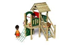 The Waxham 8 play tower - Playground equipment from Action Play & Leisure http://www.actionplayandleisure.co.uk/waxham-8/