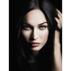 Megan Fox Giorgio Armani (8 photos) ❤ liked on Polyvore featuring models, people, faces, megan fox and pictures