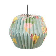 Vintage Style World Map Paper Lampshade - children's room accessories