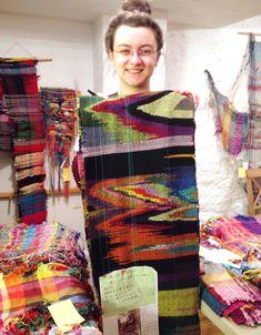 best saori weaving - Google Search More