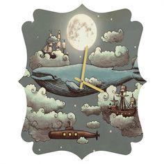 http://www.denydesigns.com/products/terry-fan-ocean-meets-sky-quatrefoil-clock