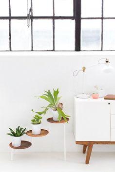17 Modern   Minimalist DIY Plant Stands Thatll Transform Your Space via Brit   Co