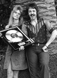 Paul and Linda McCartney, 70s