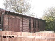 A Phoenix Premium Workshop in Newham by Phoenix Timber Buildings, via Flickr