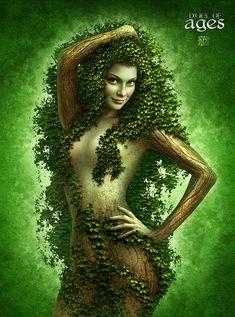Ivymane Picture  (2d, creature, girl, woman, fairy, fantasy, portrait)