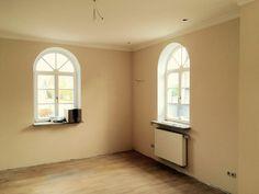 Nur noch den Boden abschleifen und Lampen montieren, dann ist auch dieses Zimmer fertig