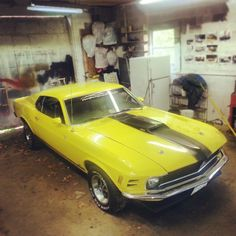 My 1970 Ford Mustang vroom!