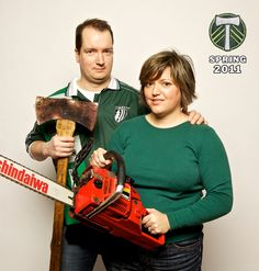 We are the Timbers. Maddy & Hagendas.