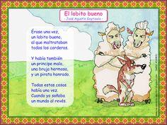 Me encanta escribir en español: poema