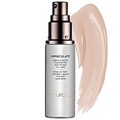 Hourglass - Immaculate Liquid Powder Foundation Mattifying Oil Free: Great for oily/combo skin. $55. This brand is kind of hard to find. It's at Sephora and you can buy it on Hourglass' website.