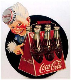 Over 100 vintage Coca~Cola posters
