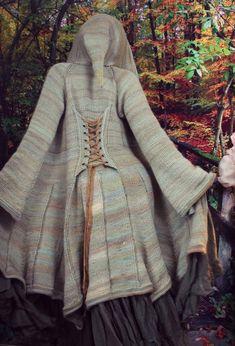 Ravelry: Elf Coat by Regina Weiss Crochet Coat, Crochet Clothes, Knitted Coat Pattern, Art Minecraft, Coat Patterns, Skirt Patterns, Blouse Patterns, Sewing Patterns, Clothes Patterns