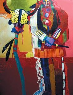 Malcolm Furlow ~  Indian at the Altar
