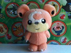 Pokemon-Plush-Teddiursa-Bean-Bag-UFO-doll-Stuffed-figure-Toy-skitty-mew-umbreon