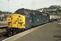 37022 (ex at Oban on Aug Electric Locomotive, Diesel Locomotive, Interesting Photos, Cool Photos, Train Room, British Rail, Diesel Engine, Wwii, Tractors