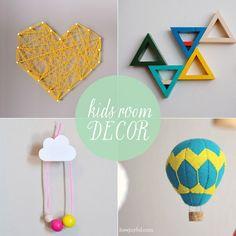 10 DIY Ideas for Kids Room Decor