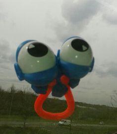 Google is skydiving!!!!!
