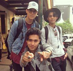 Zabdiel, Erick and Joel CNCO