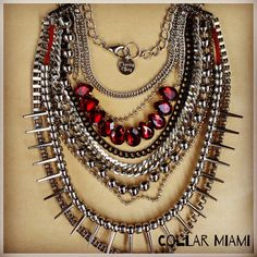 #miami #necklace #fw14 #morningglory