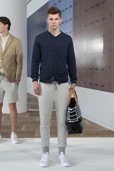 """New York Fashion Week: Men's Trendsetters - """"sweatpants"""" Jack Spade Men's RTW SS15"""