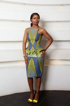 nigerian dress styles black - Google Search