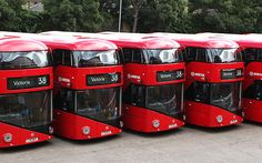 The New Bus for London was inspired by the Routemaster and uses the latest green technology London Transport, Mode Of Transport, Public Transport, Bus Station, Train Station, New Routemaster, Thomas Heatherwick, Train Truck, Double Decker Bus
