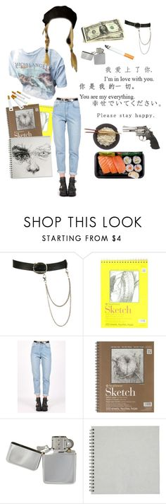 """""""my name is Marlowe"""" by saintkerosene ❤ liked on Polyvore featuring Wet Seal, xO Design and Smith & Wesson"""