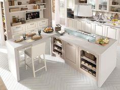 Una cucina che può essere interpretata in chiave classica, la sua ...