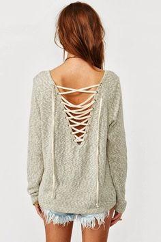 Eliza Laced Knit | Gloss Fashionista