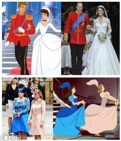 10 Funniest Disney Memes I know the step -sisters were colored to match; but how cute is it that William and Kate actually look like Cinderella and Prince Charming :) - funny pictures - funny photos - funny images - funny pics - funny quotes - funny anim Humour Disney, Funny Disney Memes, Disney Puns, 9gag Funny, Funny Humor, That's Hilarious, Freaking Hilarious, Geek Humor, Hilarious Sayings