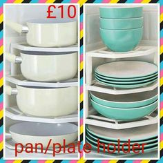 Organise your kitchen with this pan/plate holder.