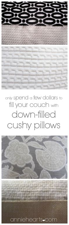 Get luxurious pillows for practically nothing! anniehearts.com