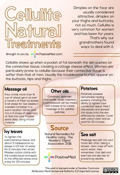 Cellulite Natural Treatments