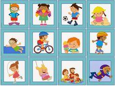 "Ideenreise: Großes Materialpaket ""Sommerliche Aktivitäten"" für... Free Activities, Summer Activities, Image Clipart, Sensory Table, Matching Games, First Grade, Summer Fun, Worksheets, German"